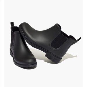 Madewell 5 The Chelsea Rain Boot black
